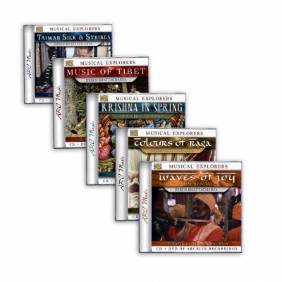 Musical Explorers Bundle (CD+DVD)